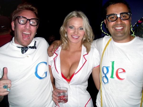 Fata de la pagina Google