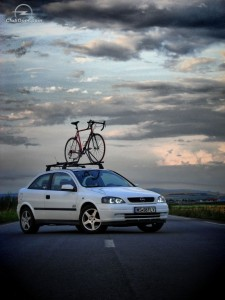 Bare transversale cu suport biciclete Opel Astra G